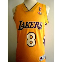 Maillot A Basket ball  LAKERS Briant N°8 Adulte taille M