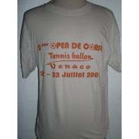 Tee shirt 2ème Open de CORSE de Tennis-ballon Venaco Taille L