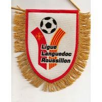 Fanion Ligue LANGUEDOC ROUSSILLON de Football