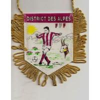 Fanion District des ALPES  Ancien F.F.FOOTBALL