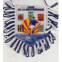 Fanion Ligue de la Méditérranée de Football