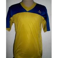 Maillot PUMA ancien taille 2x3 (M) jaune et bleu