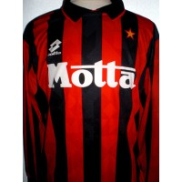 Maillot Ancien Milan AC N°8 LOTTO MOTTA