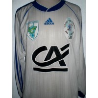 Ancien Maillot Ligue CORSE de Football porté N°11 taille L