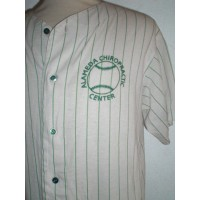 Maillot Ancien Baseball N°22 ALAMEDA CHIROPRACTIC CENTER