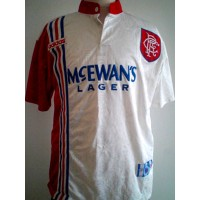 Maillot ancien Football Rangers Club année 90 ADIDAS taille L