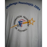 Tee shirt Challenge Poussin(e)s 2004 F.F.F taille L