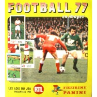 ALBUM PANINI FOOTBALL 77 en images COMPLET en TBE