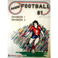 ALBUM PANINI FOOTBALL 81 en images COMPLET en TBE