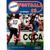 ALBUM PANINI FOOTBALL 83 en images COMPLET en TBE