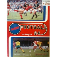 ALBUM PANINI FOOTBALL 84 en images COMPLET en TBE