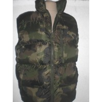 Doudoune sans manches Camouflage taille S