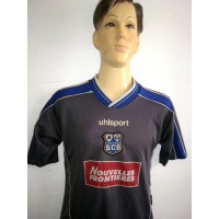 Maillot Enfant S.C.Bastia taille 12 ans Foot UHLSPORT (ME55)