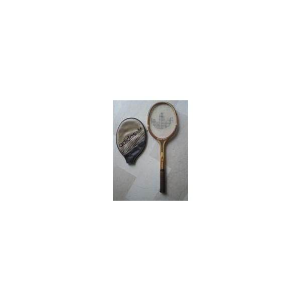 02578b3ada2bb Raquette de tennis en bois Adidas Ilie Nastase Open - ARGUS FOOT ...