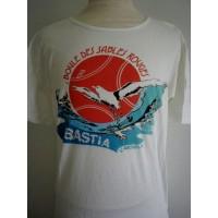 Tee shirt Ancien BOULE DES SABLES ROUGES BASTIA taille M