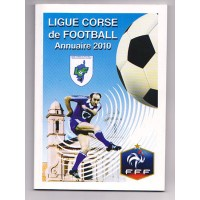Annuaire LIGUE CORSE DE FOOTBALL 2010