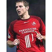 Maillot LOSC LILLE N°12 BODMER (LFP) 2005-06 taille XL