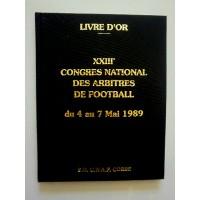 Livre d&#39Or XXIII Congrès National des Arbitres de Foot CORSE