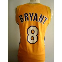Maillot  Basket ball LAKERS Briant N°8 Enfant taille 9/10ans