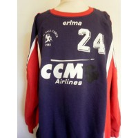 Pull ancien Hand-ball CORTE 1985 ERIMA N°24 taille 7