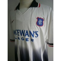 Maillot ancien Football Rangers Club  NIKE taille XL