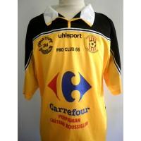Maillot Finale Coupe du Roussillon 2004 N°11 taille XL