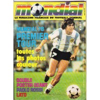 Magazine Français du Football MONDIAL N°19 Mundial 78