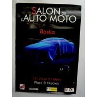 Affiche Salon Auto-moto BASTIA 2010 Place st Nicolas