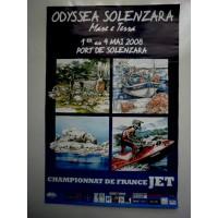 Affiche Championnat de FRANCE de JET 2008 SOLENZARA