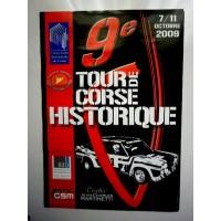 Affiche 9ème Tour de CORSE Historique 2009