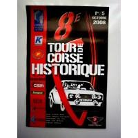 Affiche 8ème Tour de CORSE Historique 2008