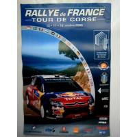 Affiche RALLYE DE FRANCE TOUR DE CORSE 2008