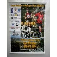 Affiche Course Pedestre 6é Machja di Costa Verde 2008