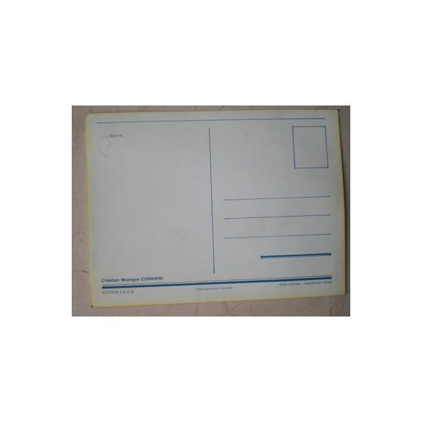 Carte Postale COUPE D'EUROPE SECB / G.C.ZURICH 1978 - ARGUS FOOT & SPORTS