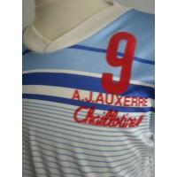 Ancien Maillot porté Eric CANTONA AJ Auxerre saison 1986-87