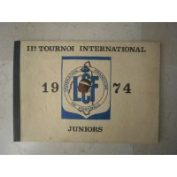 Ancien Livre II°TOURNOI INTERNATIONAL JUNIOR 1974 LCF CORSE