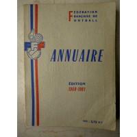 Ancien ANNUAIRE de la F.F.F Football édition 1960-1961