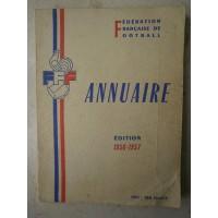 Ancien ANNUAIRE de la F.F.F Football édition 1956-1957