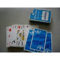 Ancien Paquet de 54 Cartes à Jouer ADIDAS glacées lavables