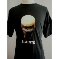 Tee shirt Bière Official Guinness Sportif du Dimanche Taille M