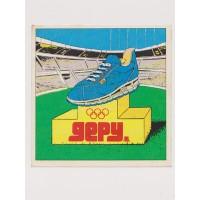 Autocollant Ancien Jeux Olympiques 1980