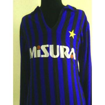 1252b52580ff Maillot ancien Inter Milan vintage des années 70 taille XL N°9 ...