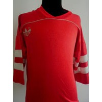Ancien Maillot ADIDAS VENTEX taille L rouge