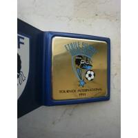 Médaille plateau TOURNOI INTERNATIONAL Etoile Filante Bastiaise