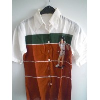 Chemise ancienne Collector CACHAREL tennis