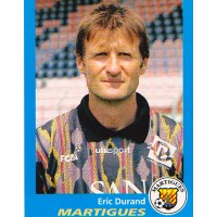 Ancien Maillot FC MARTIGUES N°1 Eric DURAND Coupe de FRANCE