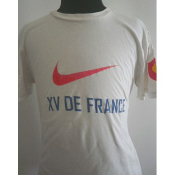 Tee Shirt Nike Rugby Xv De France Taille M Argus Foot Sports