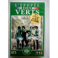 Ancienne Cassette L&#39épopée des Verts ASSE 60ème anniversaire