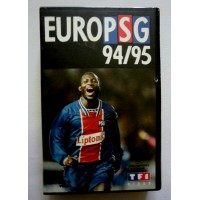 Ancienne cassette VHS EURO PSG 94/95 Paris St Germain