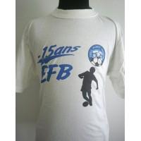 Tee shirt EFB -15ans Etoile Filante Bastiaise Taille XL